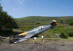 Sport plane in bush