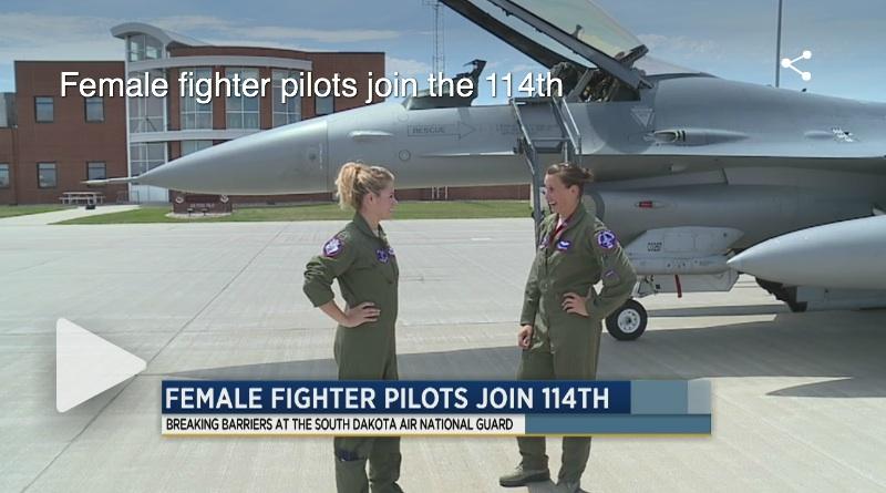 Femmes Pilote de Chasseur F-!8
